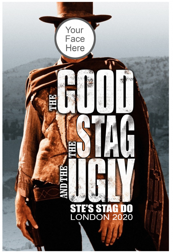 The Good The Stag The Ugly T-shirt